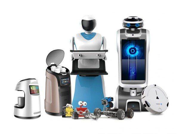 圖一 : 就普及度和開發彈性而言,服務型機器人的開發或許還需要一段時間進行跨域資...