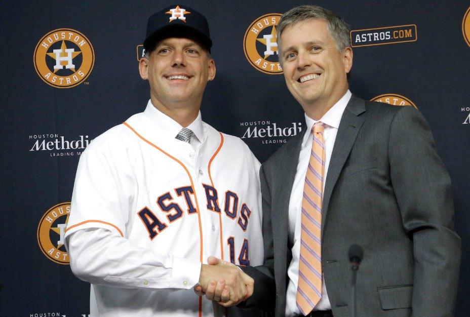 MLB/太空人偷暗號懲處出爐 再開除總管與教頭