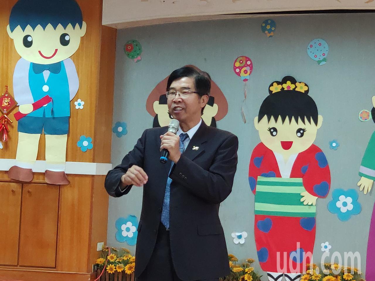 大台南家長協會理事長吳燕卿。記者謝進盛/攝影