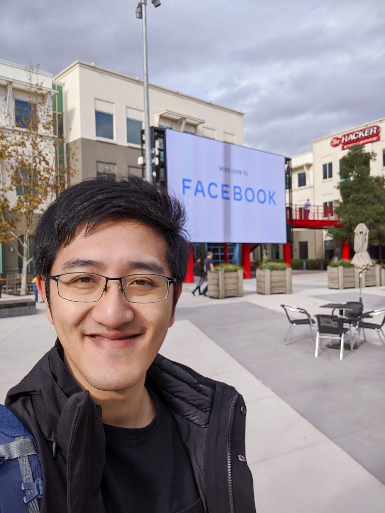 國立交通大學光電系博士生王毓仁以月薪9千美元,到Facebook Reality...