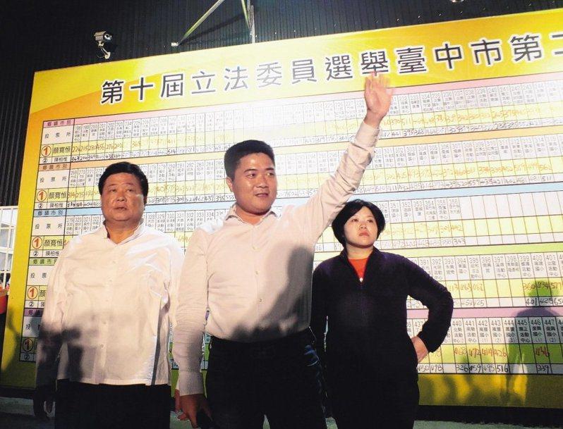 國民黨顏寬恒(中)。圖/聯合報系資料照片