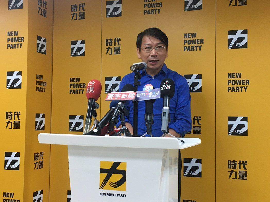 時代力量黨主席徐永明。圖/本報系資料照