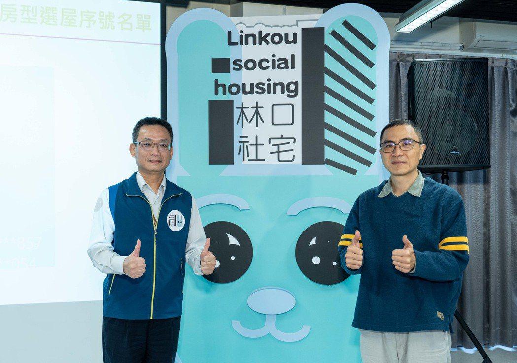 國家住都中心執行長張溫德(左)與董事呂秉怡。 圖/國家住都中心提供