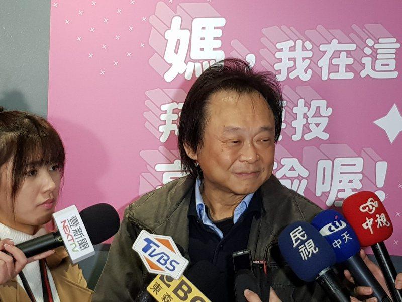 台北市議員王世堅去年2月受訪時表示,若蔡英文順利連任,他絕對會跳海慶祝,王世堅今在臉書上強調,一諾千金,誠信至上。圖/報系資料照片