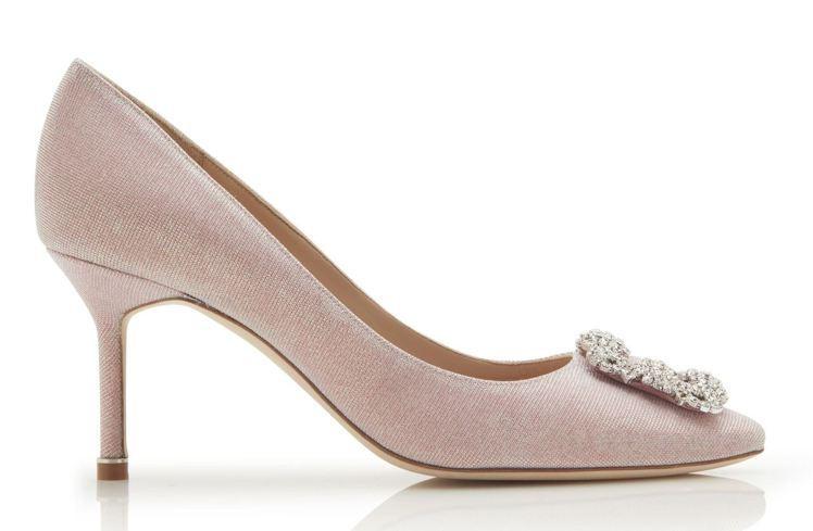 Hangisi鞋款,43,800元。圖/Manolo Blahnik提供