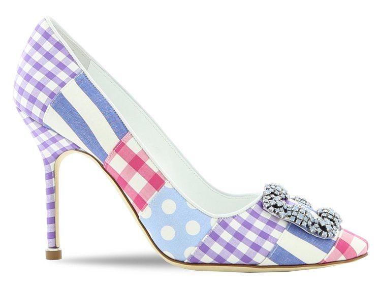 Hangisi鞋款,48,800元。圖/Manolo Blahnik提供