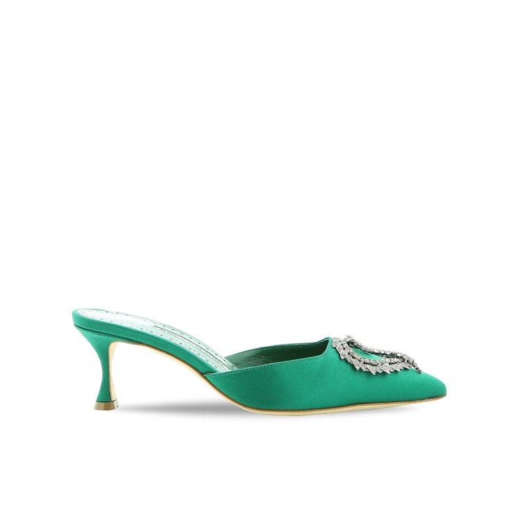 DREAM SATIN鞋款,42,800元。圖/Manolo Blahnik提供