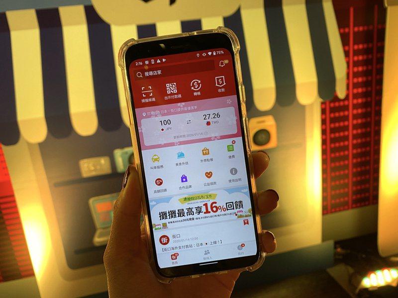 只要將App內的地區改為日本,介面上即會出現日幣兌換匯率。記者黃筱晴/攝影
