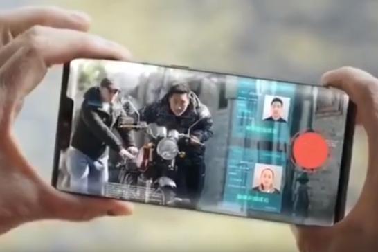 電信5G宣傳片 大媽「感覺不對」掃臉即刻報警