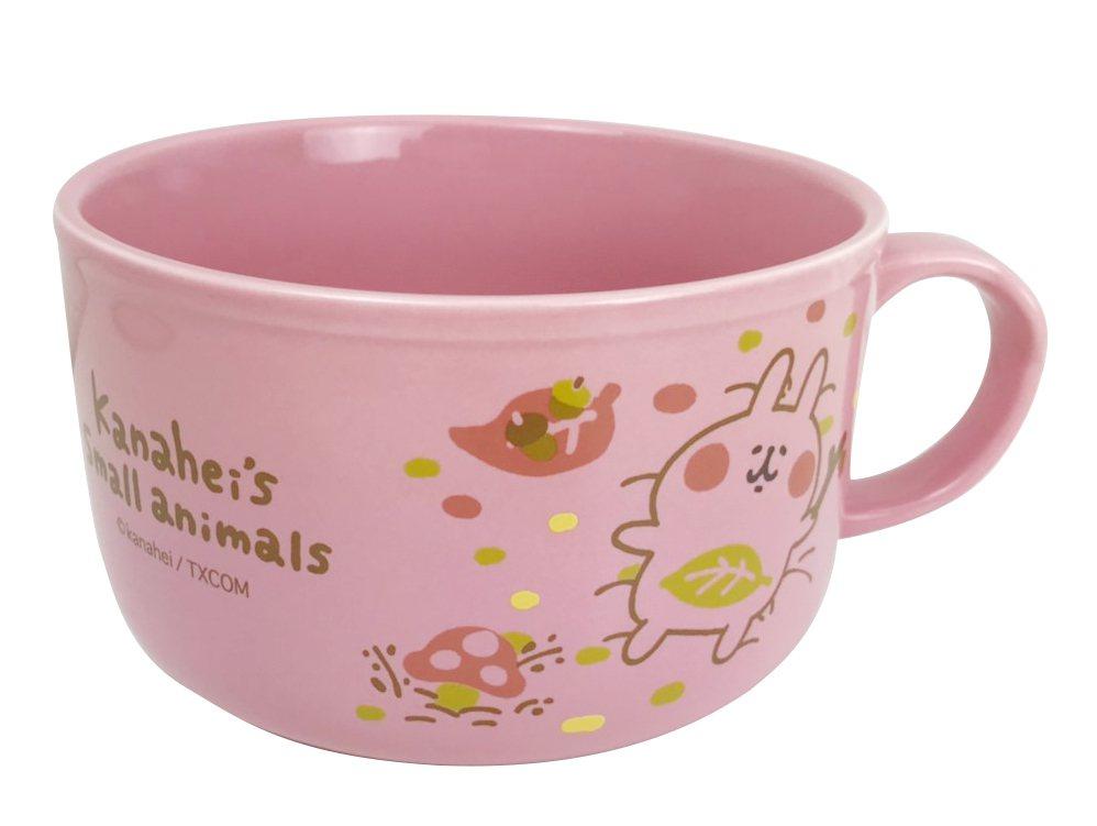卡娜赫拉的小動物陶瓷碗,售價499元,共兩款。圖/7-ELEVEN提供