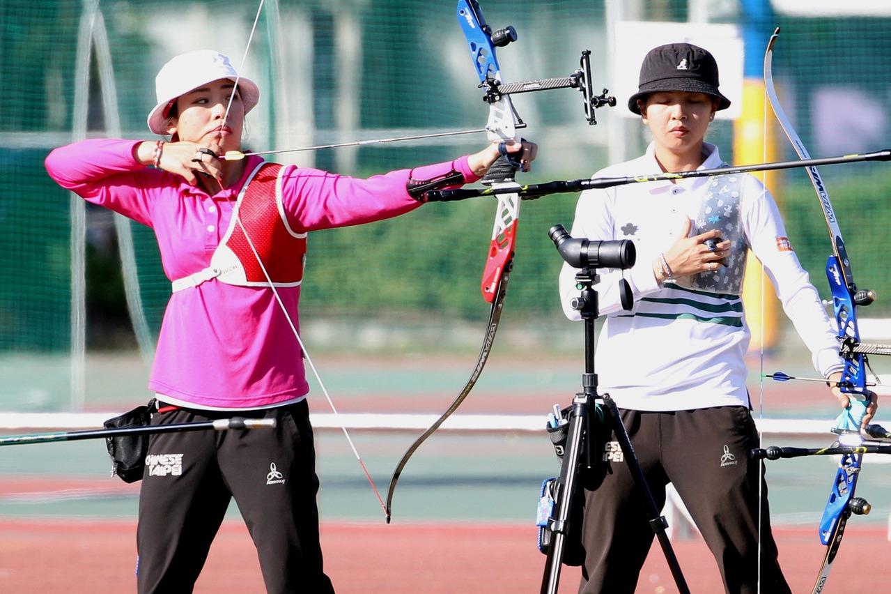射箭/東奧選拔賽最終場 譚雅婷躍居女子組第二