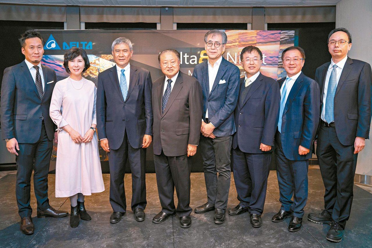 台達昨在東京森美術館舉辦8K貴賓之夜,Digital Projection CE...