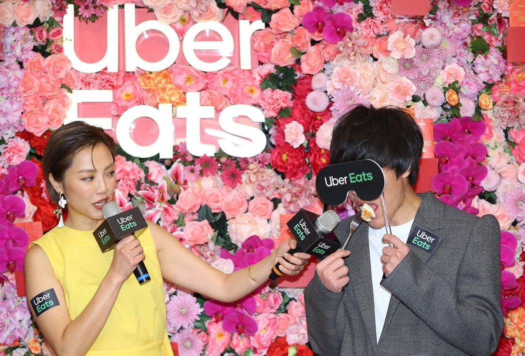 盧廣仲出席Uber Eat活動。記者陳柏亨/攝影