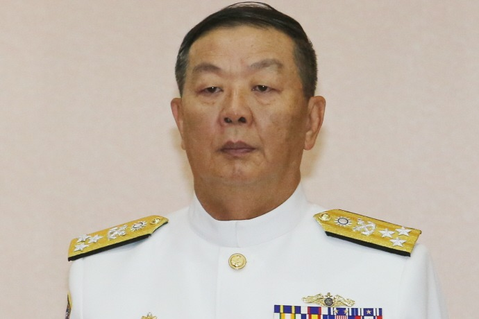 海軍司令黃曙光(圖)上將接任參謀總長。 聯合報系資料照片/記者許正宏攝影