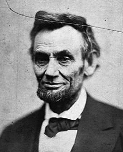 林肯是第一位留鬍子的美國總統。(法新社)