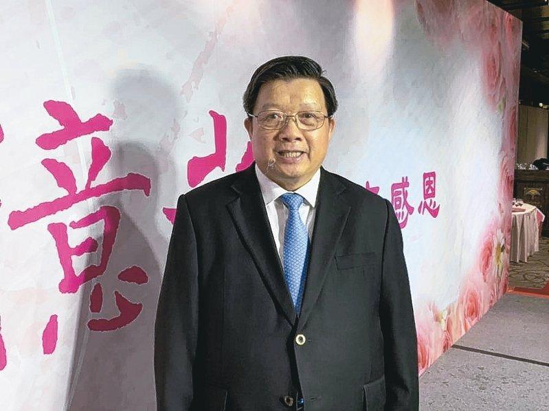 億光董事長葉寅夫 記者李孟珊/攝影