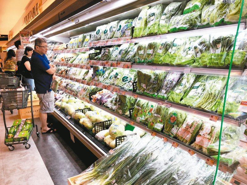 超市營收穩定成長,主因是家庭結構轉型帶動消費習慣轉變。 圖/聯合報系資料照片