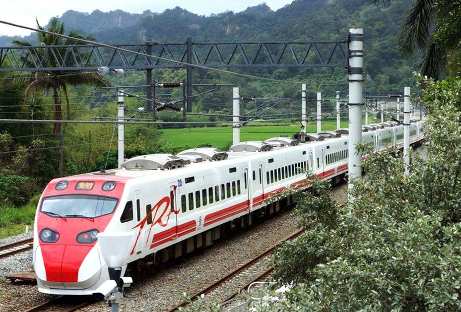 台鐵台東往返台北再加班4列次,17日零時開放訂票。聯合報系資料照片/記者羅紹平攝影