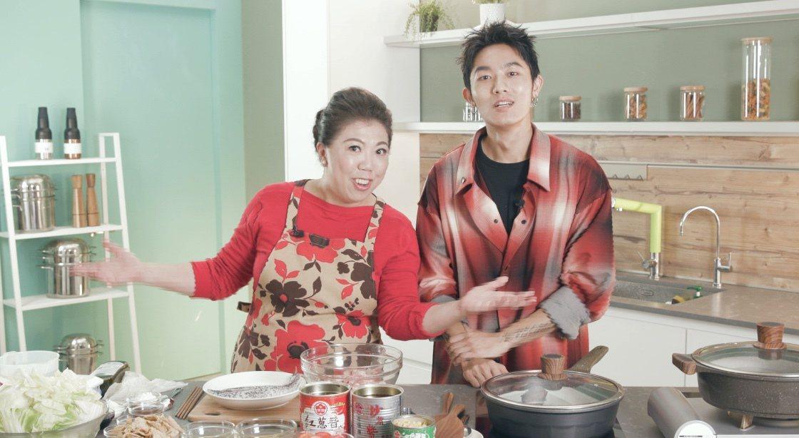 料理專家蔡季芳老師用牛頭牌醬料做出創意年菜料理。 圖/噓星聞 提供