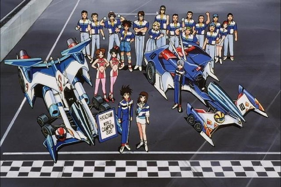 那些年我們曾經看過的賽車動畫(2)《閃電霹靂車》