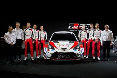 除發表GR Yaris!Toyota誓言今年要在WRC拿下三個不同冠軍