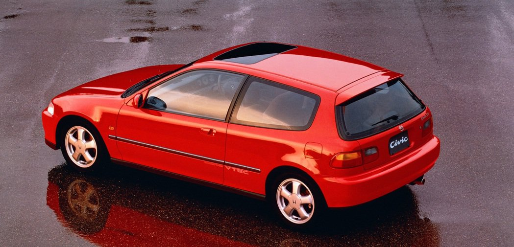 Honda Civic SiR·II(EG6)。 摘自Honda
