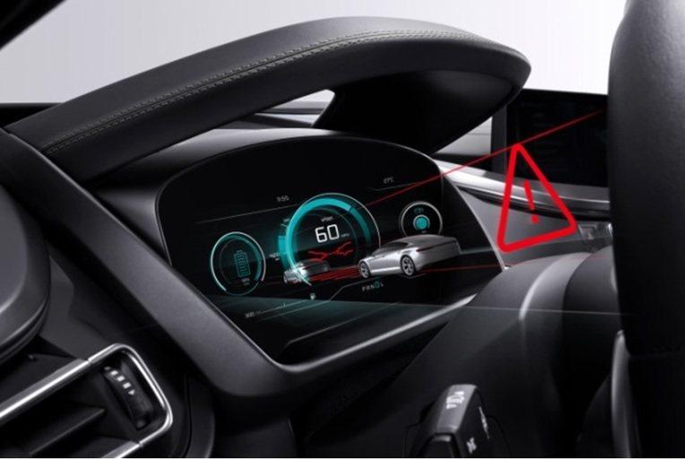 Bosch車用3D Display示意圖。光電科技工業協進會/提供