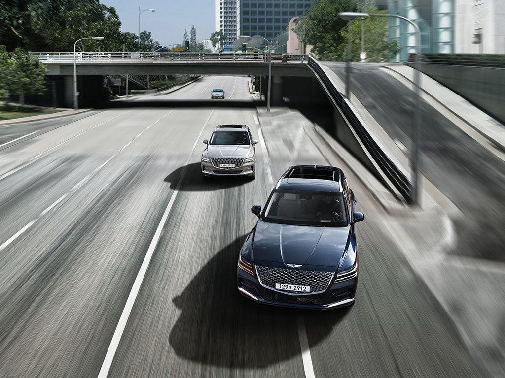 Genesis GV80 3.0升柴油動力車型售價6,580萬韓元,折合台幣約為...