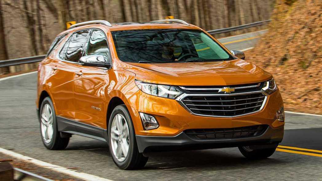 Chevrolet Equinox。 圖/摘自motor1.com