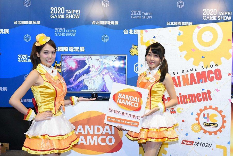 台灣萬代南夢宮娛樂為歡慶PAC-MAN誕生40周年紀念,打造參展歷年來史上最大主...