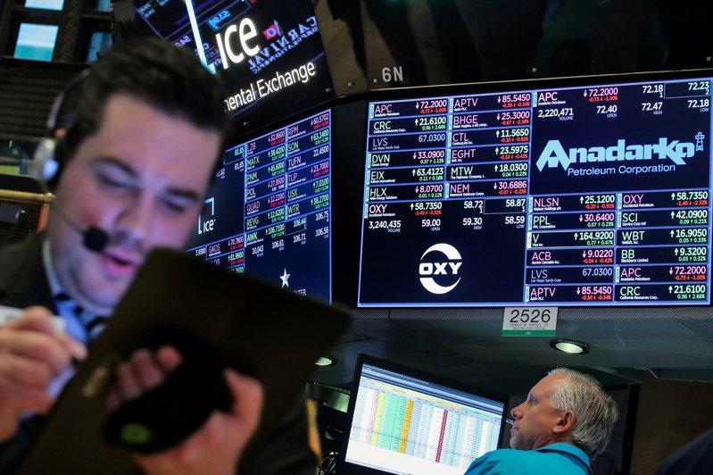美國可能維持對中國大陸商品關稅至總統大選後,美股下滑。 路透