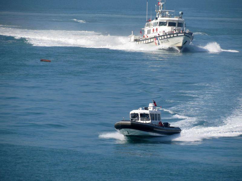 海巡署成立20周年,陸續更新艦艇等執法設備。資料照/記者林昭彰攝