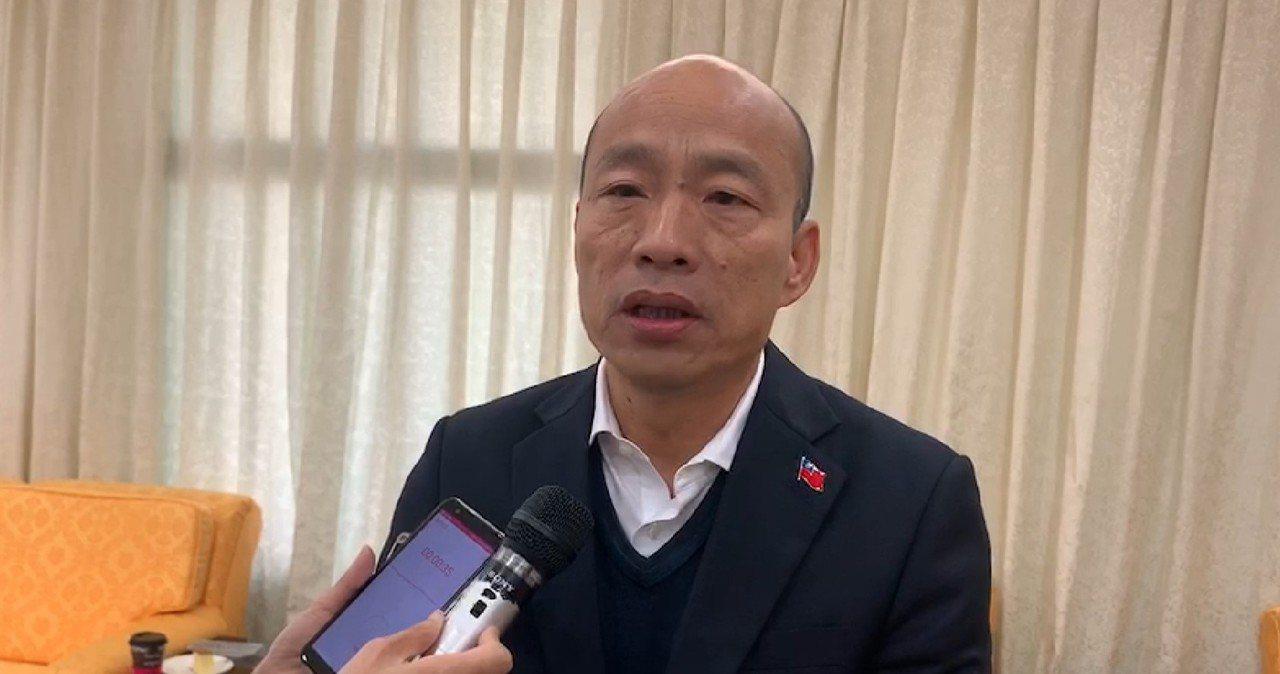 楠梓大火,高雄市長韓國瑜提醒市民小心空汙。圖/高雄市新聞局提供