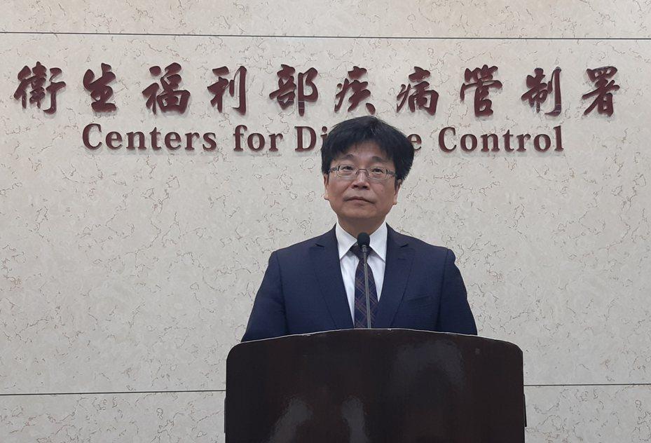 衛生福利部疾病管制署署長周志浩。記者邱宜君/攝影