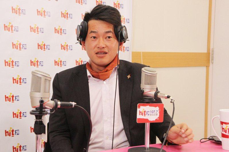 台灣基進台中立委當選人陳柏惟今天接受廣播專訪。圖/Hit Fm《周玉蔻嗆新聞》製作單位提供。