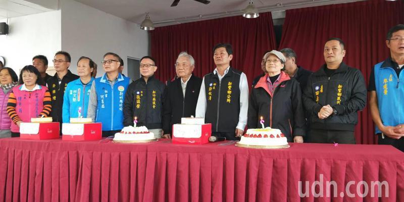 未來將於每個月的月初舉辦慶生會,邀請當月的65歲以上的壽星同歡。記者郭政芬/攝影