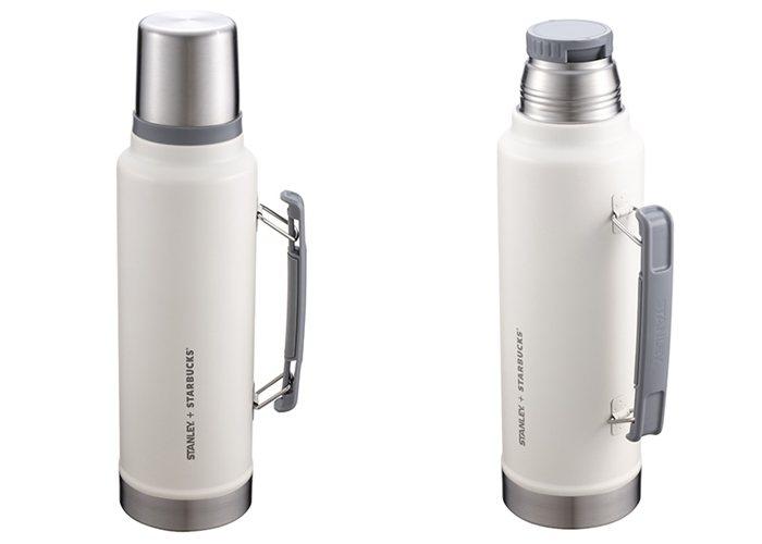 STANLEY1.4L Creamy不鏽鋼瓶,售價2,100元。圖/星巴克提供