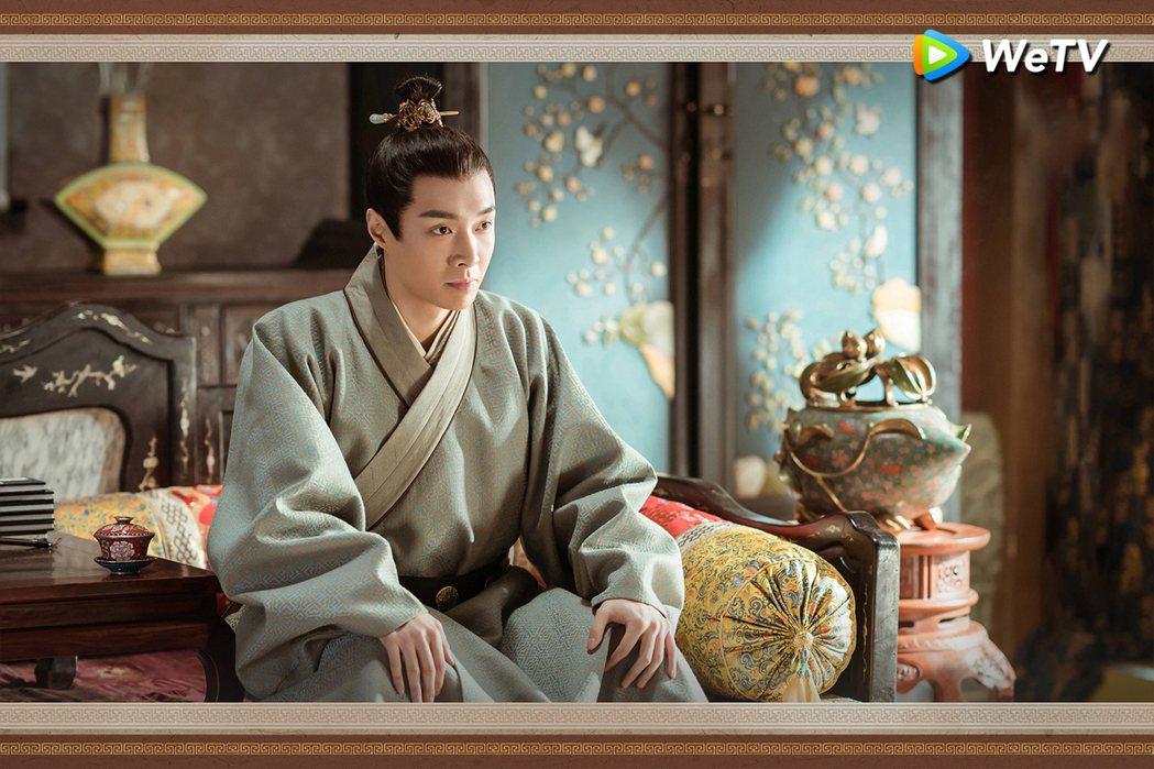張藝興「大明風華」演出明英宗人生經歷相當坎坷。圖/WeTV提供