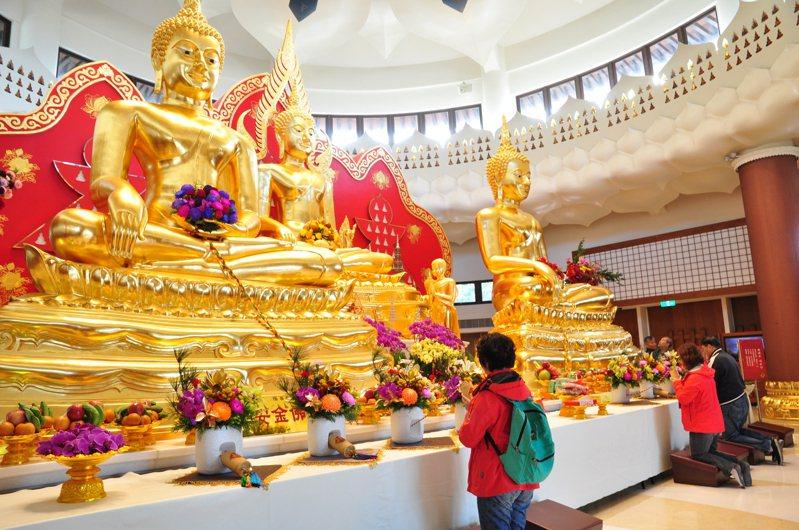 靈鷲山新春有多項特別活動,別具巧思,民眾可前往祈願。圖/靈鷲山佛教教團提供
