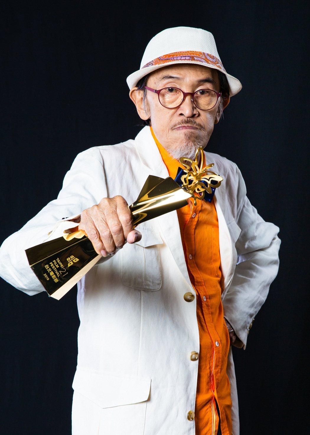 2019台北電影獎最佳男主角獎「老大人」小戽斗。圖/台北電影節提供