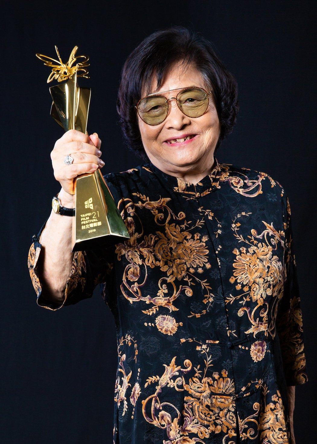 2019台北電影獎最佳女主角獎「帶媽媽出去玩」劉引商。圖/台北電影節提供
