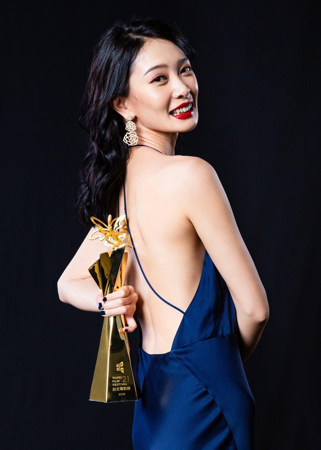 2019台北電影獎最佳女主角獎「野雀之詩」李亦捷。圖/台北電影節提供