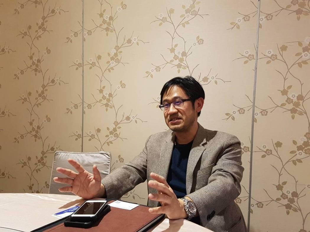 蔡昇翰說患者就診時,下體腫大如「哈密瓜」。記者楊雅棠/攝影