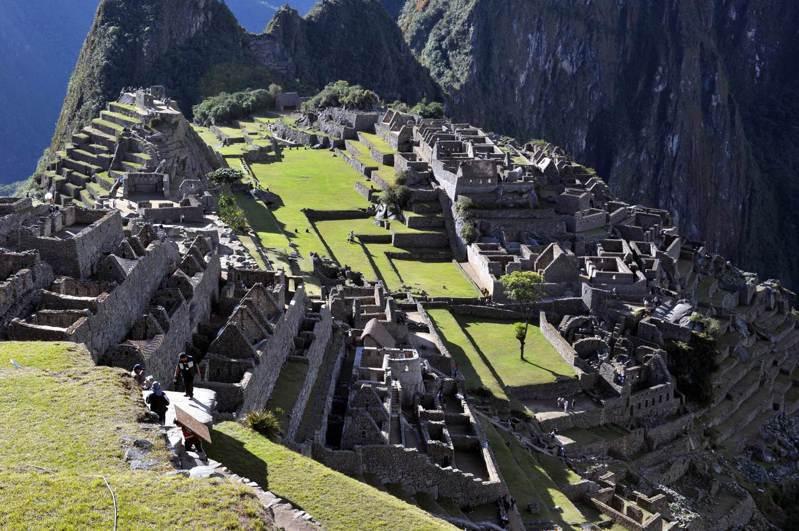 有「天空之城」之稱的馬丘比丘是秘魯旅遊勝地。法新社