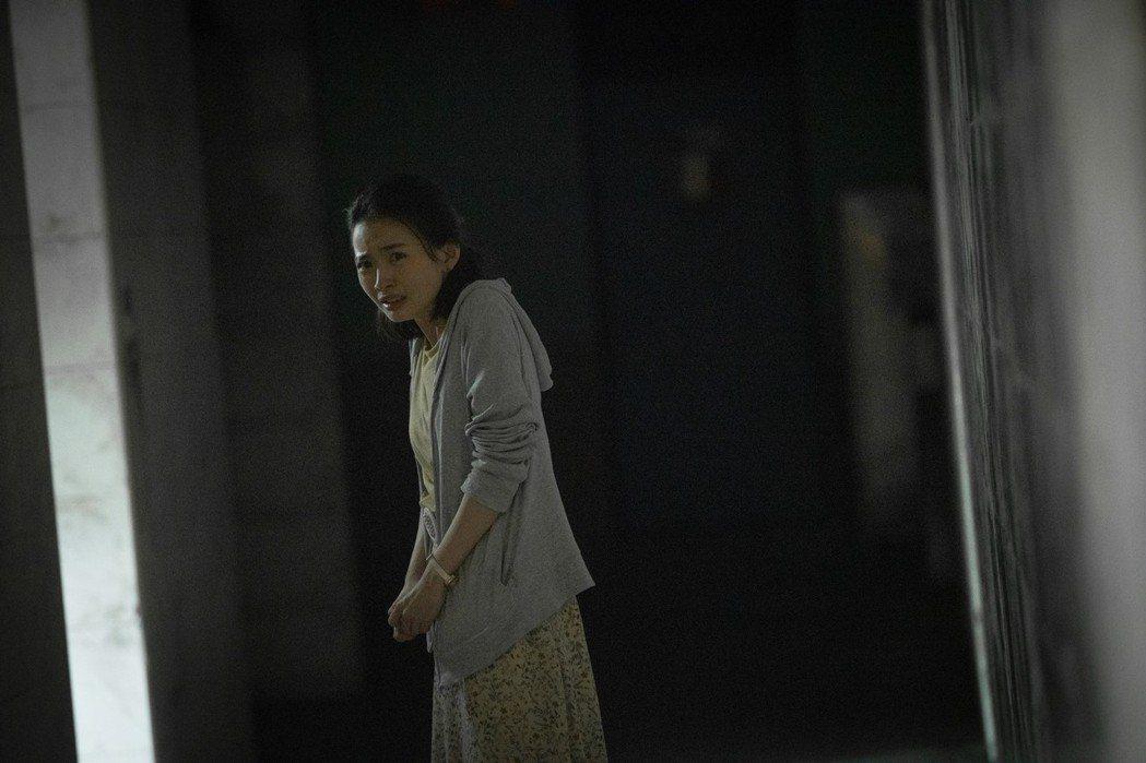詹宛儒曾演出「紅衣小女孩2」精湛表現,新片中憑眼眶就讓人感受到恐懼。圖/傳影提供