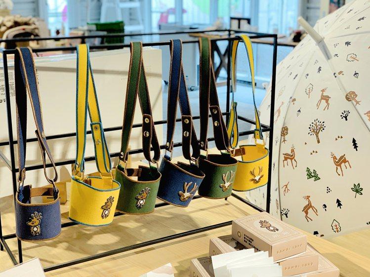 斑比山丘獨家設計商品。記者張芳瑜/攝影