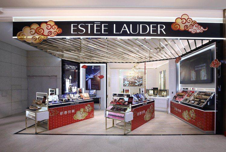 雅詩蘭黛全新概念店於遠百信義A13開幕。圖/雅詩蘭黛提供