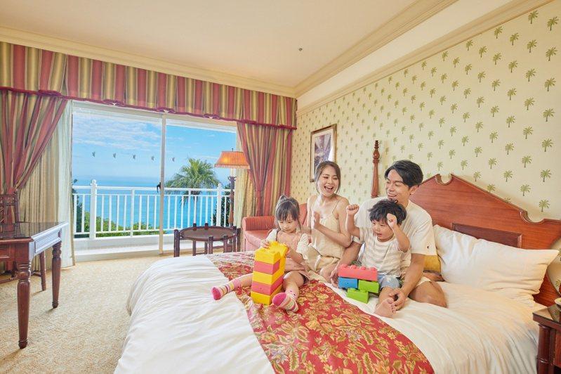 遠雄悅來及遠雄海洋公園為花蓮首間五星級觀光旅館與國際級主題樂園,集團決議投資超過2億元,逐步啟動18年來最大改裝計畫。業者提供