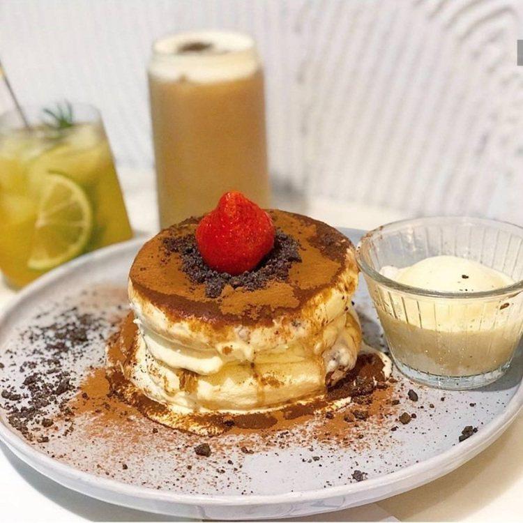 台中「樂丘廚房」的舒芙蕾,是招牌熱門甜點。圖/FB/Blog: 舞食旅台灣。a...