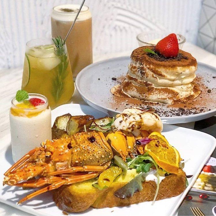 台中「樂丘廚房」的豐盛早午餐跟舒芙蕾是IG打卡熱門,還有各式飲料可搭配(非酒精類...
